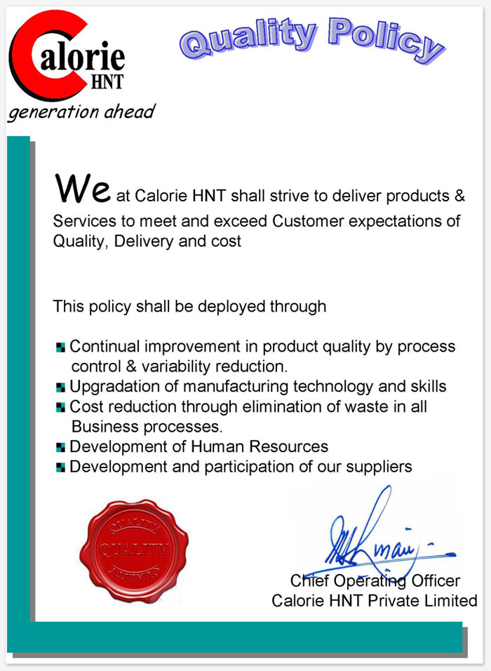 Calorie HNT Private Limited